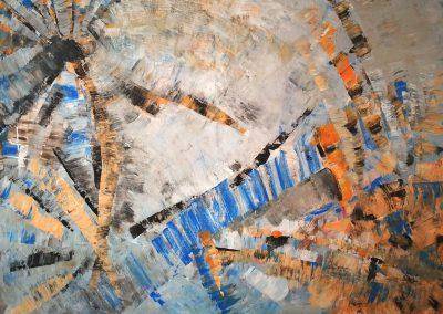 """""""Abstrakt"""" Acryl auf Leinwand 60x80cm"""